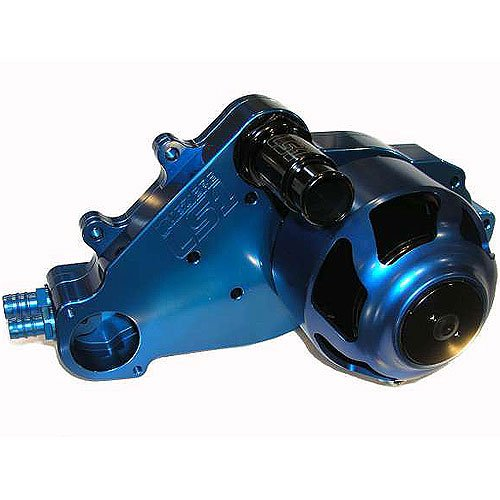 Meziere Wp319B Blue Billet Electric Water Pump For Small Block Chevy Ls1